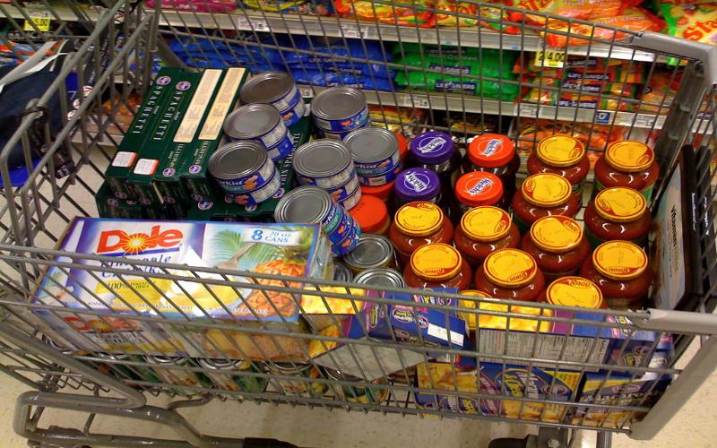 Lambeth foodbank donations
