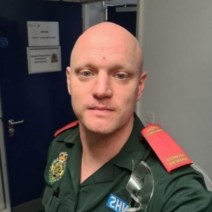 Michael Casizzi london paramedic london