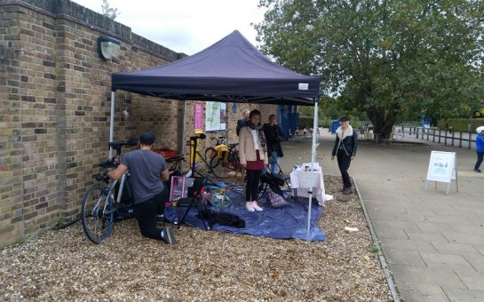 clockwork cycles holding a pop up event