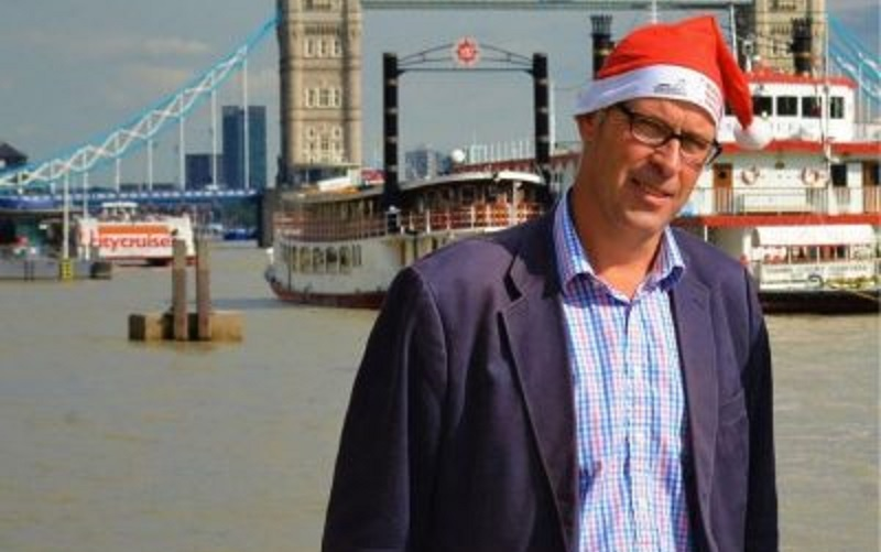 Walking Home for Christmas CEO Ed Parker