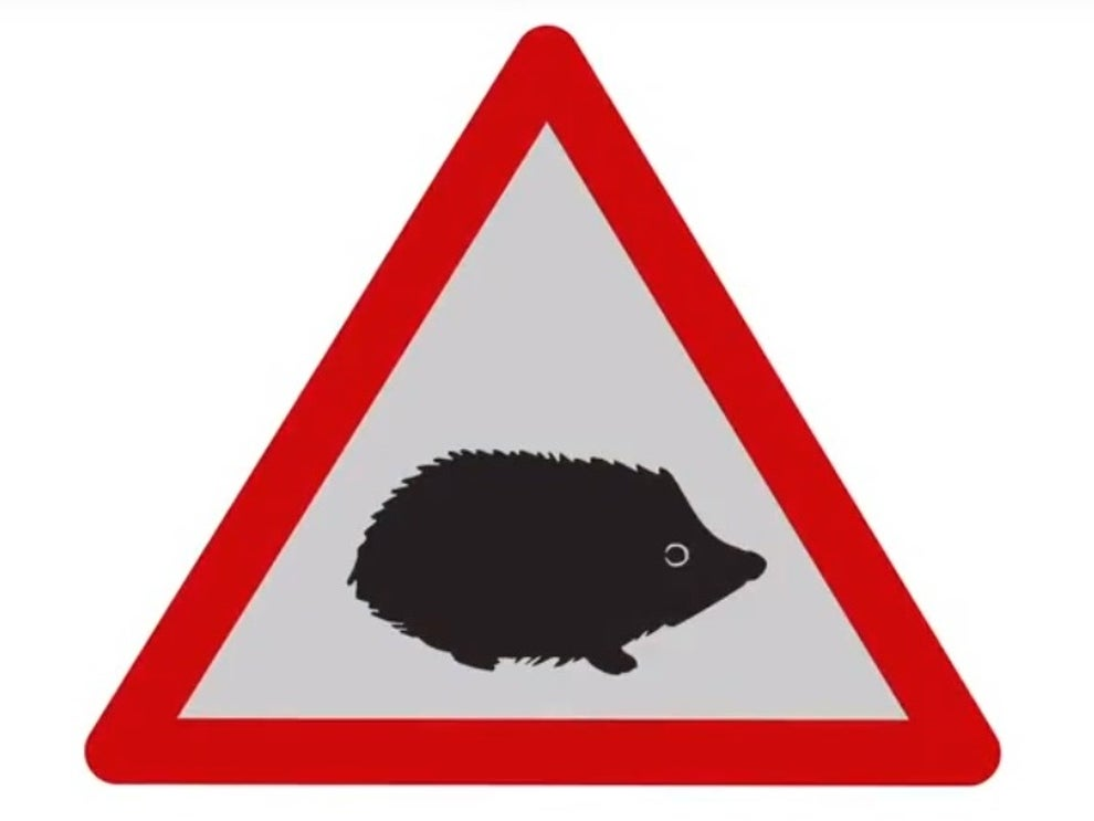 Putney volunteers successfully campaigned for hedgehog road signs