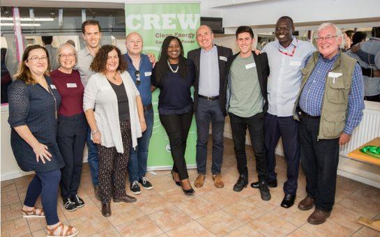 CREW Energy team