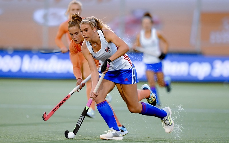 Great Britain and England hockey player Lily Owsley