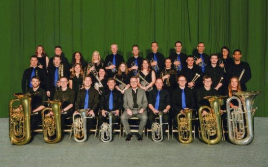 brass band group photo