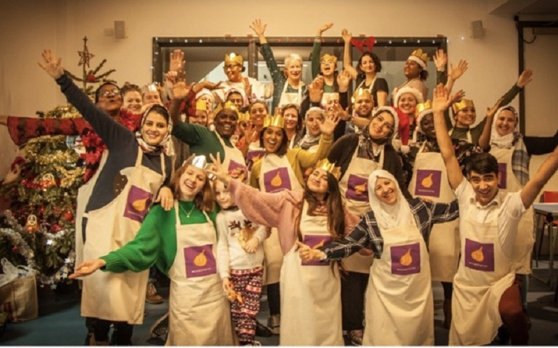 Migrateful Chefs celebrate Christmas