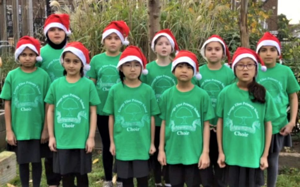 south-west london schools Christmas music video