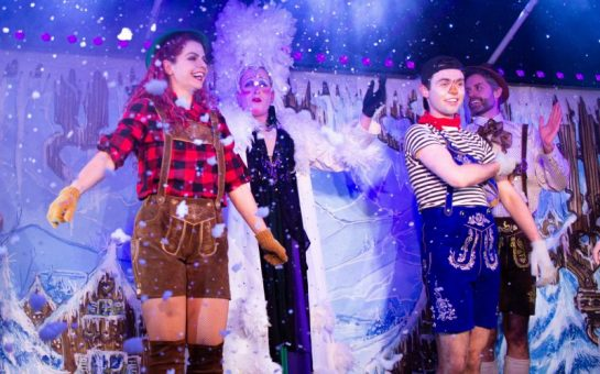 frostbite, the adult panto, being performed