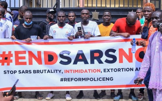 end sars protestors
