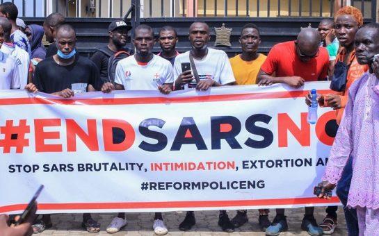 end sars protestors