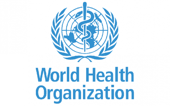 World Health Organisation Logo on a white background