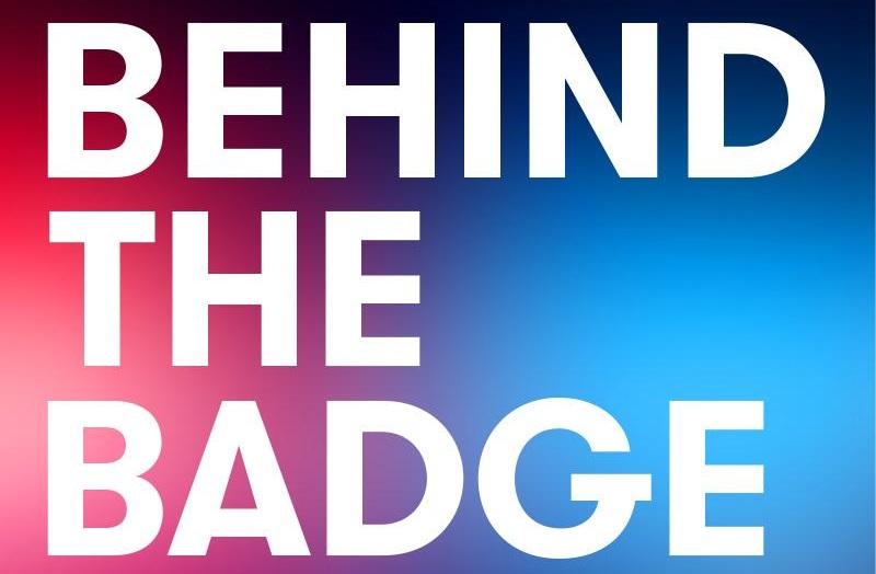 Riverside Radio #behindthebadge logo