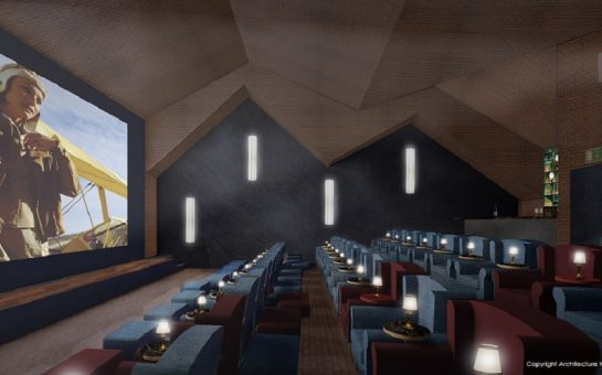 Teddington luxury cinema room interior