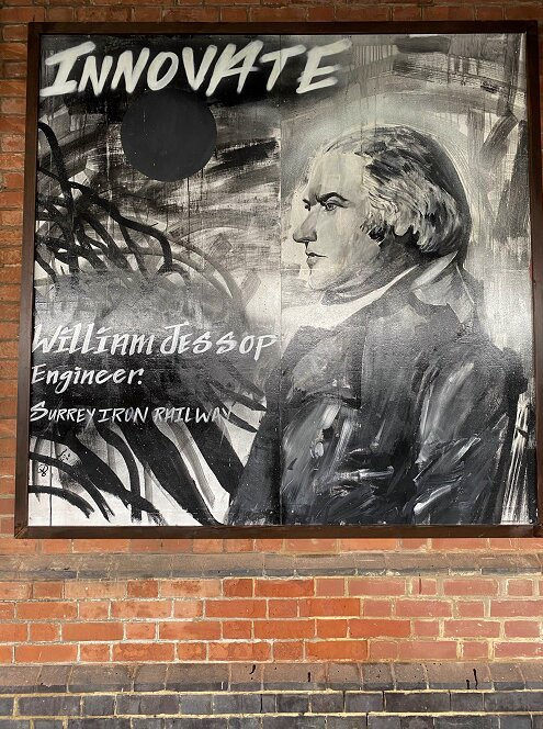 Purley station art on display, William Jessop