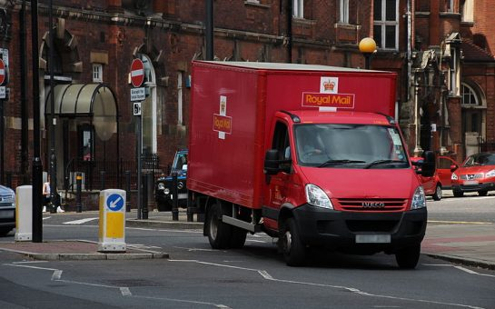 royal mail truck