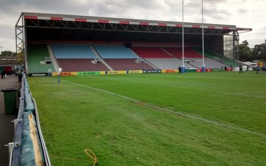 Twickenham Stoop South Stand interior