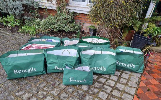 Food bags delivered to Kingston hospital