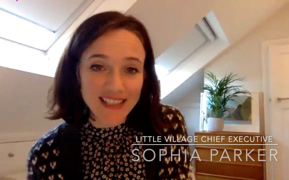 Little Village chief executive Sophia Parker