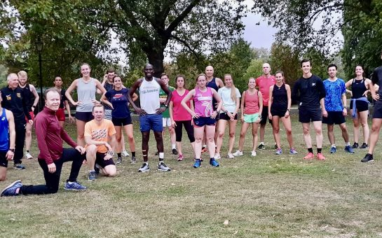 Belgrave Harriers running group