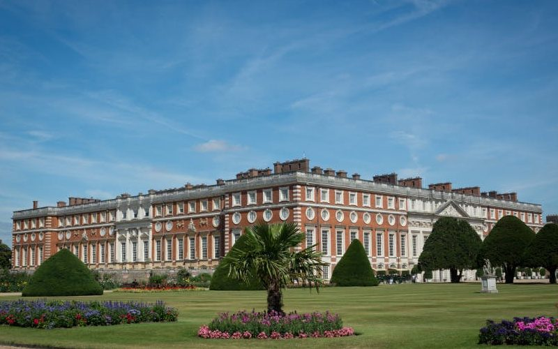 Hampton Court Palace's gardens in bloom