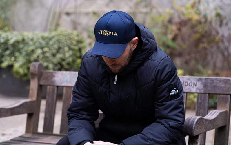 jack in his utopia hat
