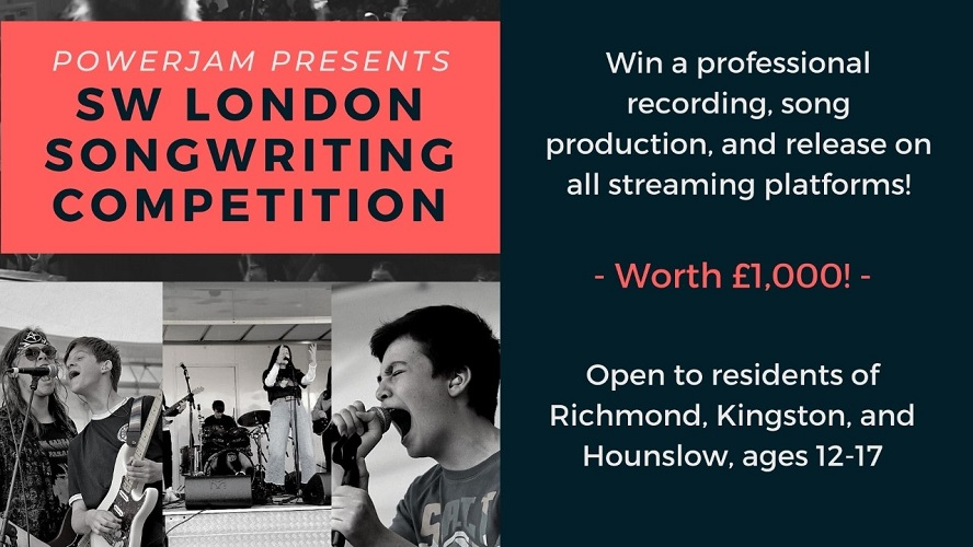 The South West London Songwriting Competition poster