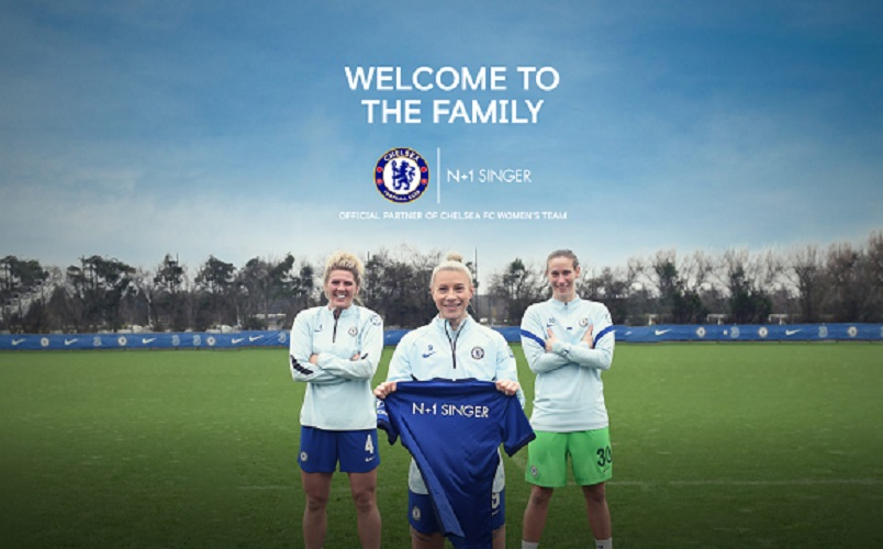 Chelsea Women announce shorts deal with picture of players welcoming new deal