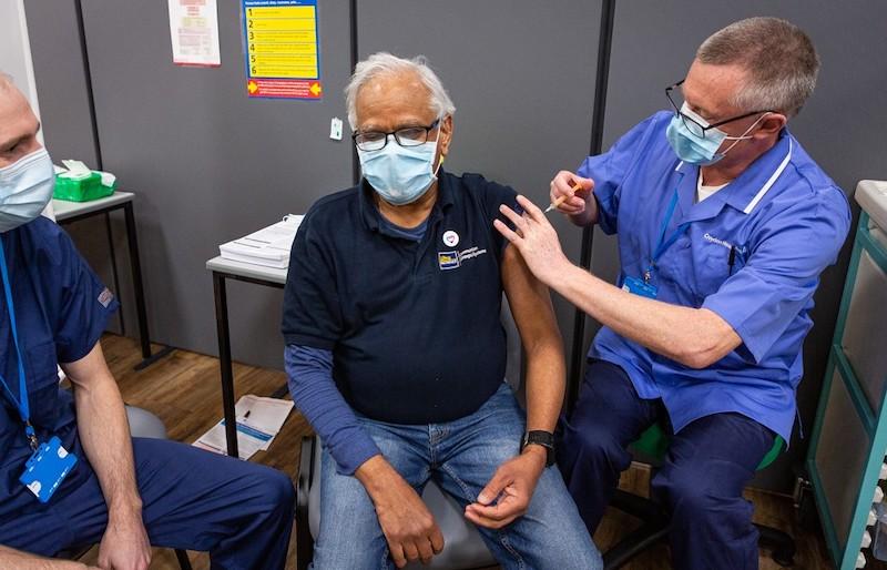 COVID Twickenham Stoop vaccine