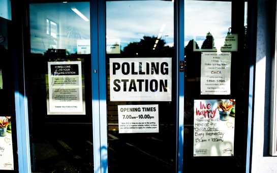 Polling Station exterior