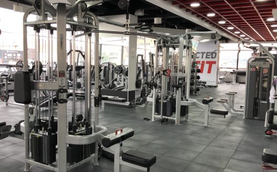 gym fitness weights machines exercise health