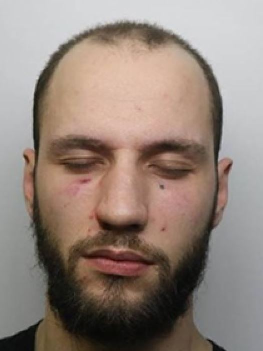 mugshot of William Fernandez, an alleged sex offender who was mistakenly released from Wormwood Scrubs