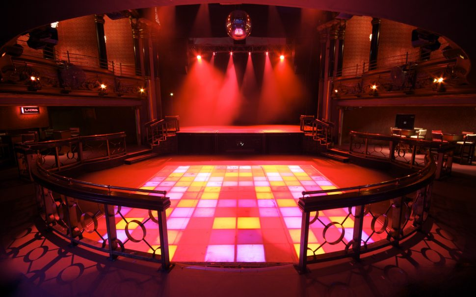 the Clapham Grand dancefloor