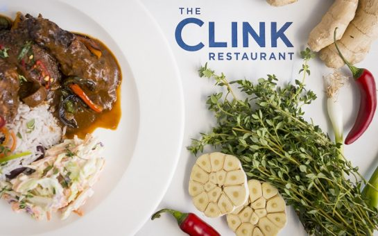 Clink Charity - jerk chicken dish