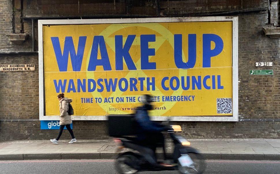 Wake up Wandsworth billboard