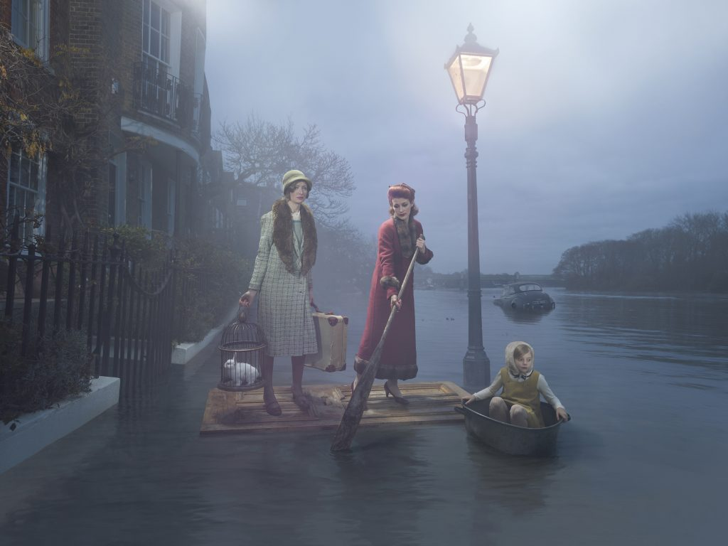 'Flood on the Thames' by Julia Fullerton-Batten