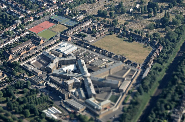HMP Wandsworth from the air