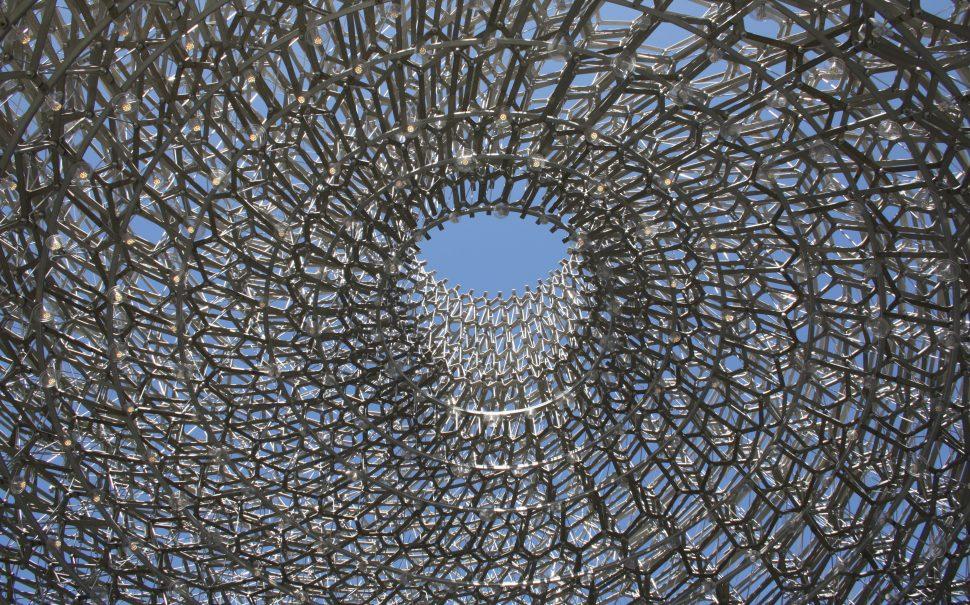 Kew Gardens hive sculpture