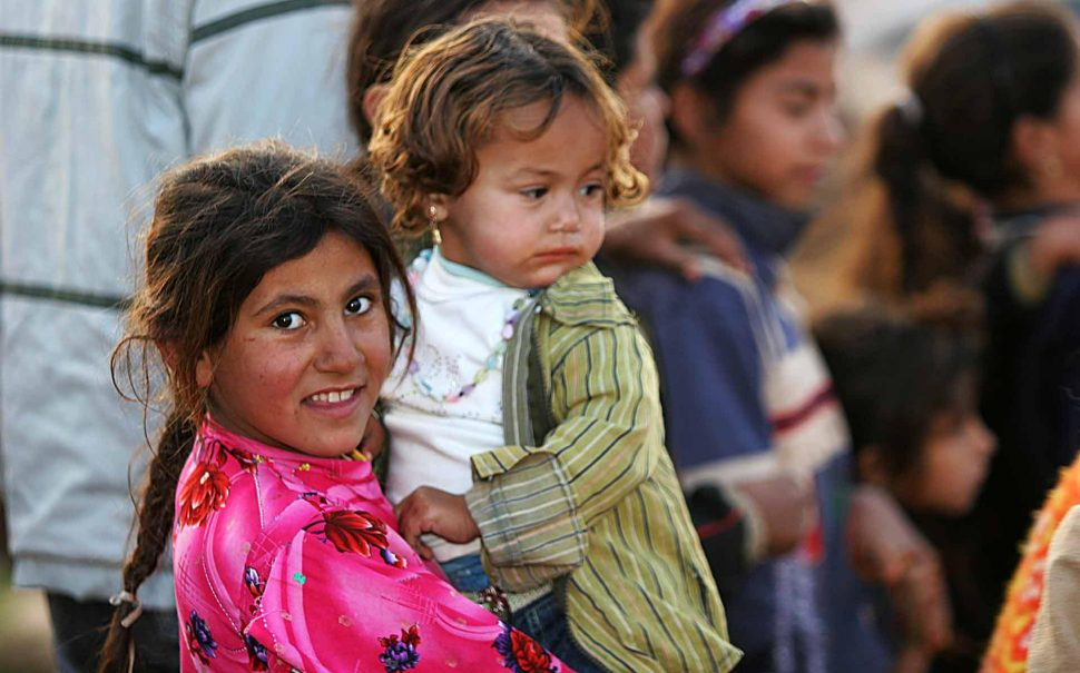 Iraqi refugee children, Damascus, Syria