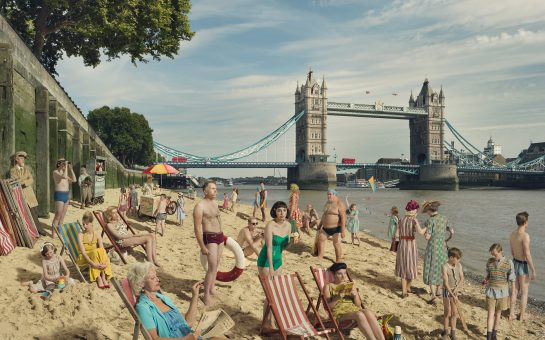 River Thames Fine Art Photograph Julia Fullerton-Batten London Bridge Beach