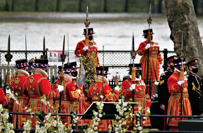 Pageantry for Prince Philip