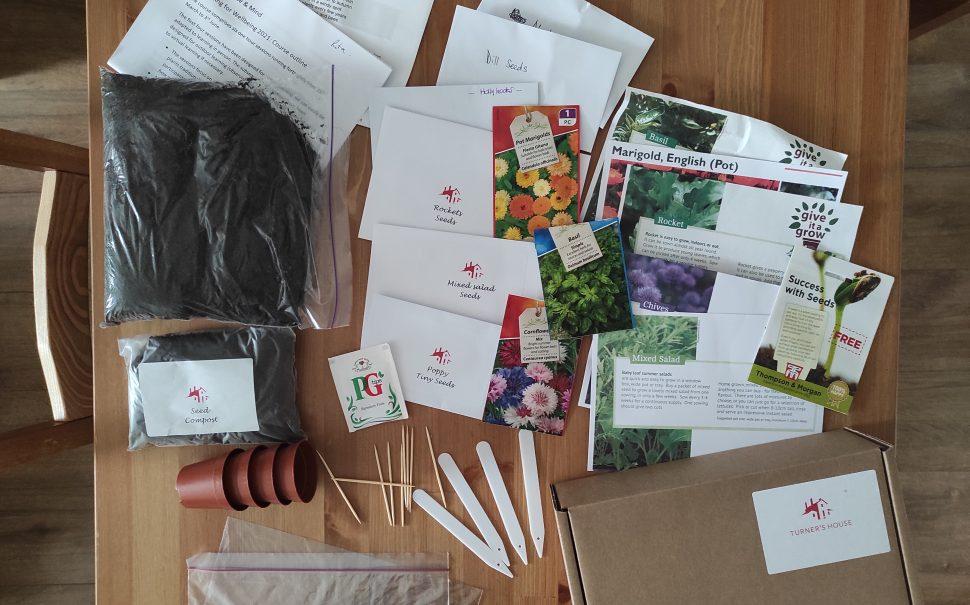 Indoor gardening kits for zoom classes