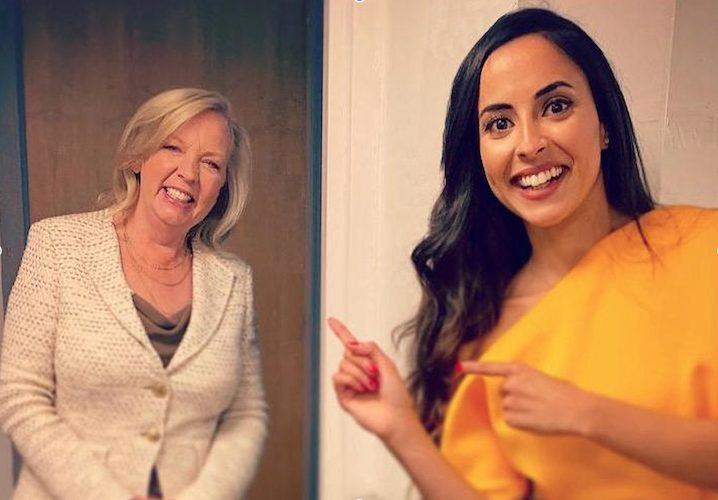 Deborah Meaden and Zena El Farra