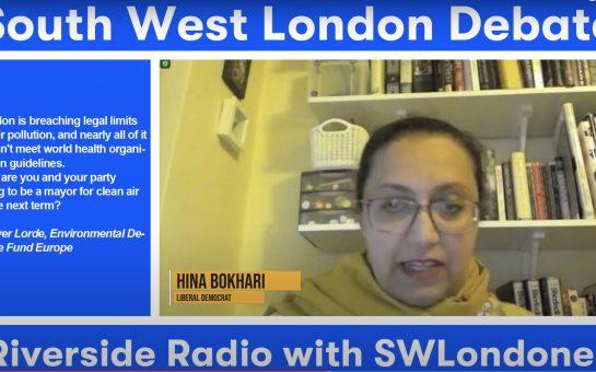Screenshot of Hina Bokhari GLA Riverside Radio Online