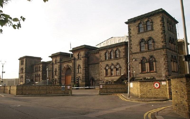 Exterior of HMP Wandsworth Prison