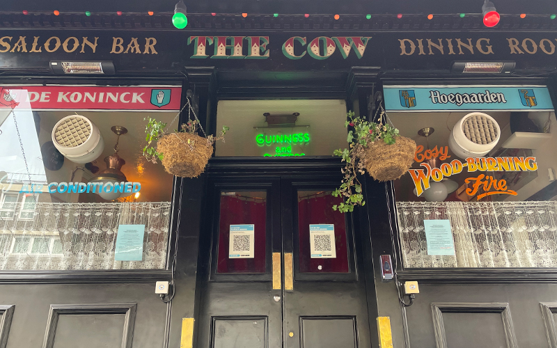 The Cow Pub in Notting Hill