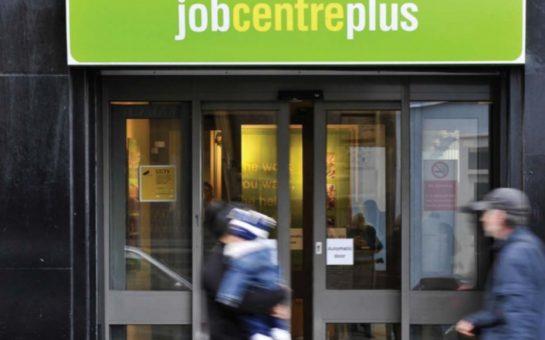 The exterior of a job centre