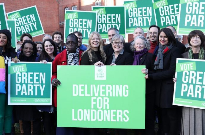 Green Party campaigners