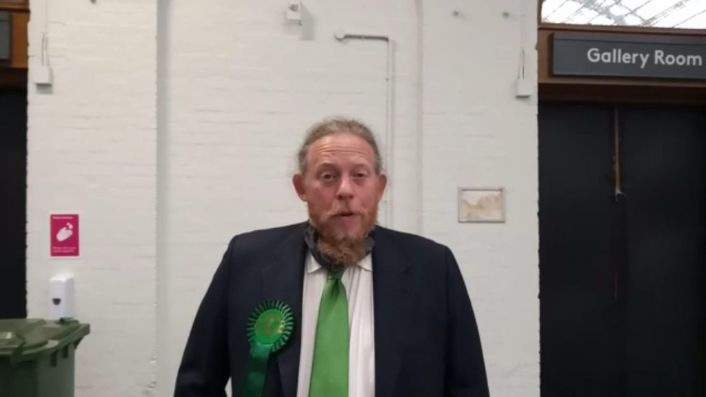 Croydon and Sutton GLA Green candidate