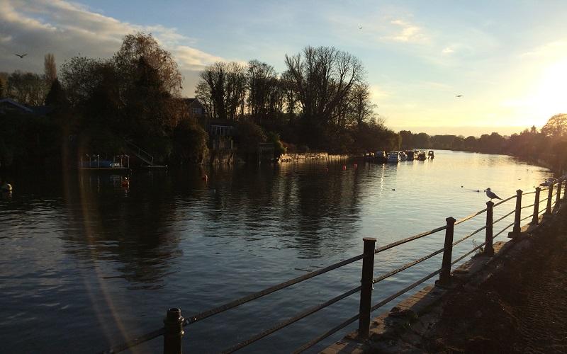 Twickenham Riverside Sunset