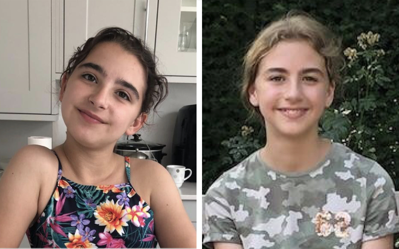 Picture of missing twins Lily and Poppy Myers