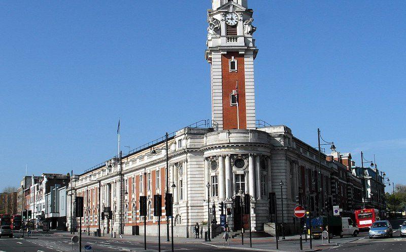 Lambeth town hall in Brixton